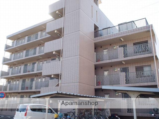 埼玉県富士見市、志木駅徒歩28分の築20年 5階建の賃貸マンション