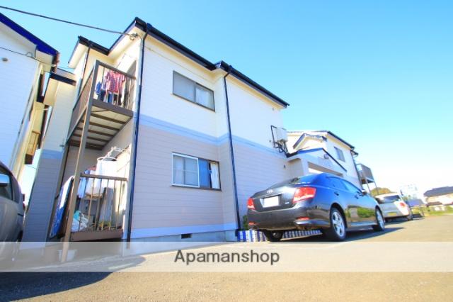 埼玉県富士見市、みずほ台駅徒歩27分の築28年 2階建の賃貸アパート