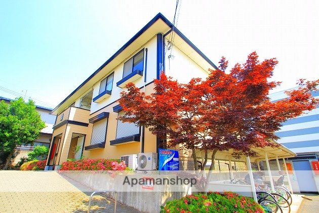 埼玉県富士見市、鶴瀬駅徒歩24分の築23年 2階建の賃貸アパート