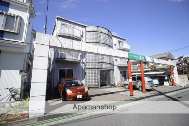 埼玉県志木市、朝霞台駅徒歩35分の築26年 3階建の賃貸マンション