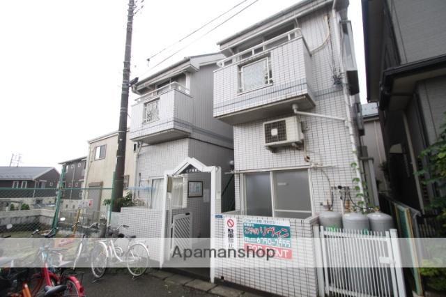 埼玉県朝霞市、北朝霞駅徒歩14分の築25年 2階建の賃貸アパート