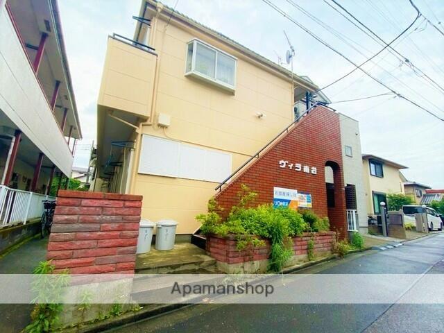 埼玉県ふじみ野市、鶴瀬駅徒歩40分の築41年 2階建の賃貸アパート