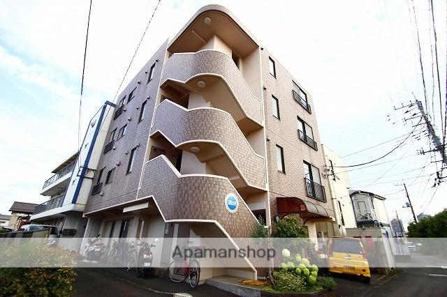 埼玉県富士見市、鶴瀬駅徒歩35分の築16年 4階建の賃貸マンション