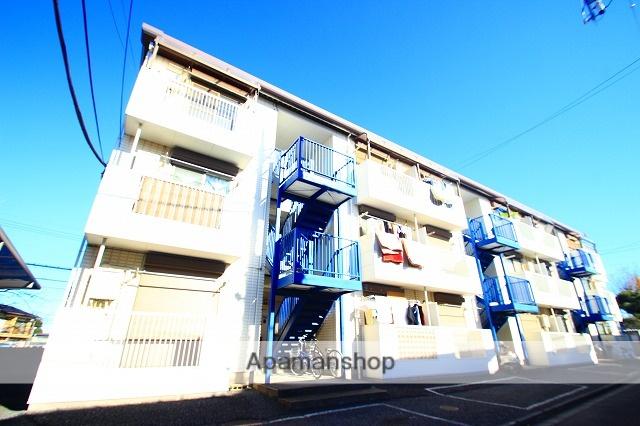 埼玉県富士見市、みずほ台駅徒歩13分の築25年 3階建の賃貸マンション