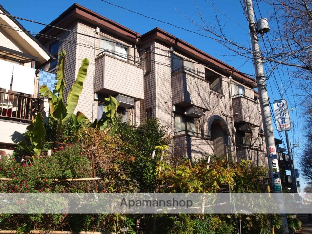 埼玉県富士見市、みずほ台駅徒歩19分の築25年 3階建の賃貸マンション