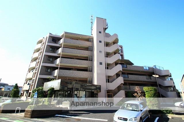 埼玉県朝霞市、北朝霞駅徒歩4分の築18年 6階建の賃貸マンション