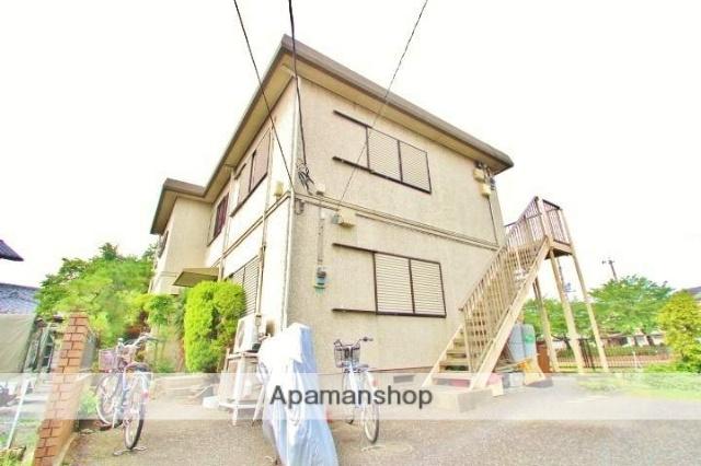 埼玉県志木市、志木駅バス15分北美町下車後徒歩5分の築25年 2階建の賃貸アパート