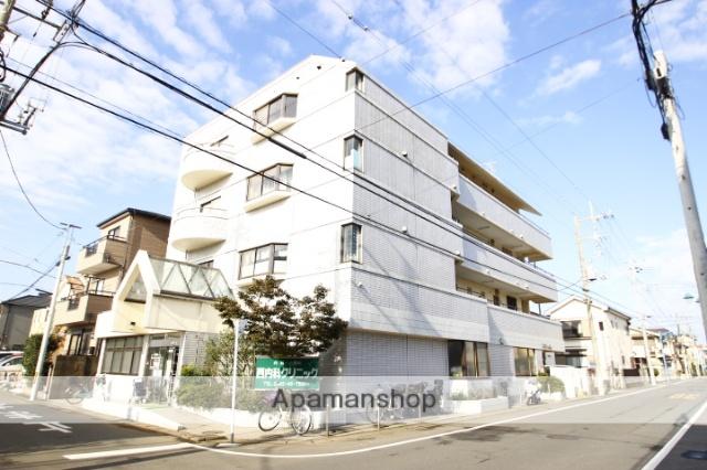 埼玉県川越市、ふじみ野駅徒歩36分の築27年 4階建の賃貸マンション