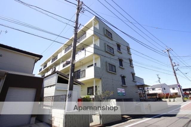 埼玉県川越市、新河岸駅徒歩13分の築27年 4階建の賃貸マンション