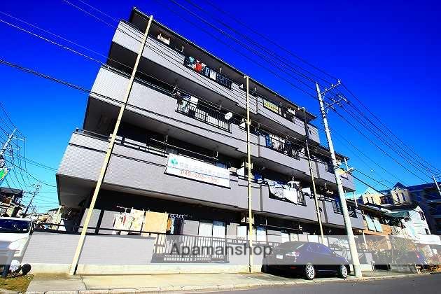 埼玉県富士見市、ふじみ野駅徒歩6分の築23年 4階建の賃貸マンション