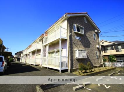 埼玉県川越市、ふじみ野駅徒歩33分の築25年 2階建の賃貸アパート