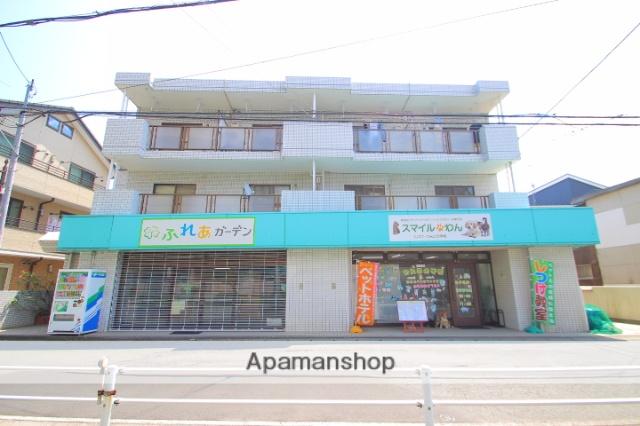 埼玉県富士見市、みずほ台駅徒歩25分の築28年 3階建の賃貸マンション