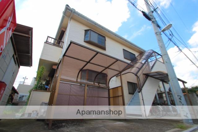 埼玉県富士見市、みずほ台駅徒歩30分の築21年 2階建の賃貸アパート