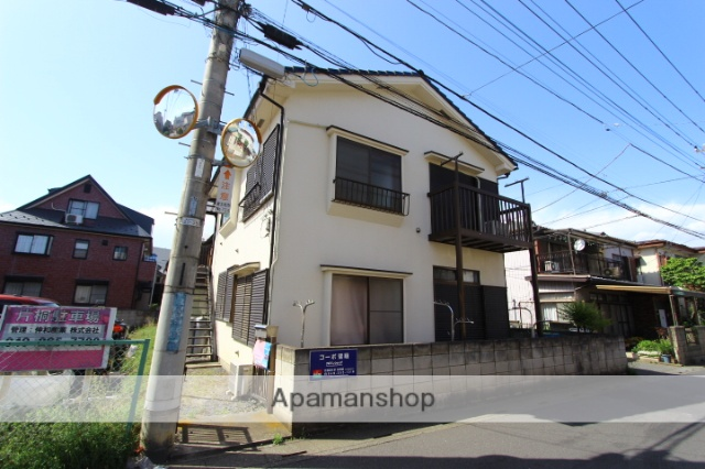 埼玉県富士見市、みずほ台駅徒歩31分の築36年 2階建の賃貸アパート