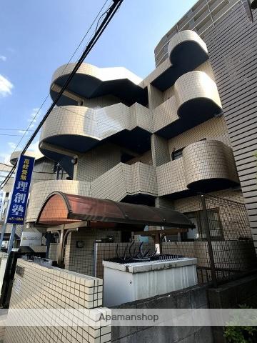埼玉県朝霞市、北朝霞駅徒歩2分の築27年 3階建の賃貸マンション