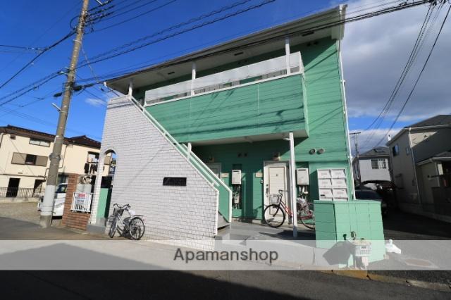 埼玉県川越市、上福岡駅徒歩14分の築29年 2階建の賃貸アパート