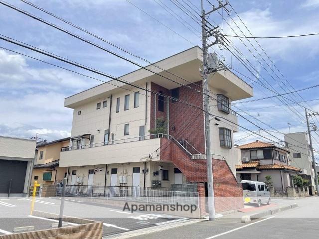 埼玉県川越市、ふじみ野駅徒歩23分の築30年 3階建の賃貸マンション