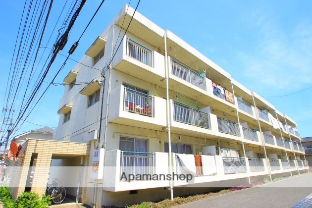 埼玉県富士見市、みずほ台駅徒歩17分の築29年 3階建の賃貸マンション
