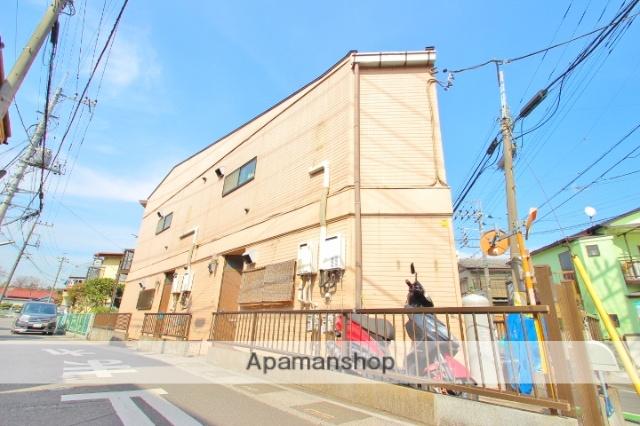 埼玉県富士見市、みずほ台駅徒歩29分の築46年 2階建の賃貸アパート