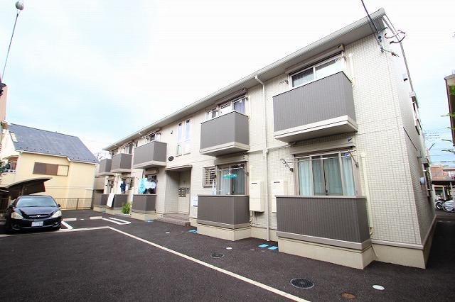 埼玉県朝霞市、北朝霞駅徒歩15分の築3年 2階建の賃貸アパート