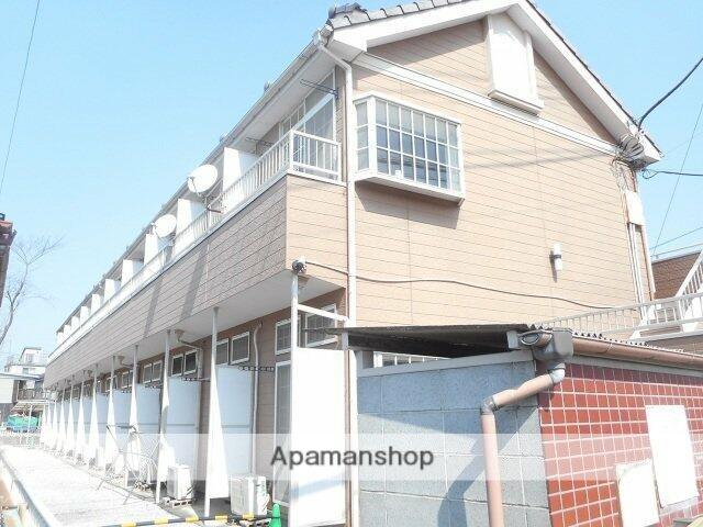 埼玉県川越市、新河岸駅徒歩15分の築26年 2階建の賃貸アパート