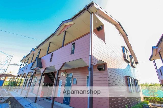 埼玉県川越市、南古谷駅徒歩27分の築21年 2階建の賃貸アパート