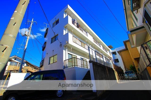 埼玉県富士見市、みずほ台駅徒歩15分の築27年 3階建の賃貸マンション