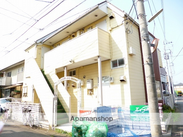 埼玉県富士見市、みずほ台駅徒歩29分の築26年 2階建の賃貸アパート