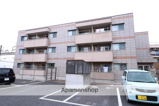 埼玉県川越市、上福岡駅徒歩25分の築6年 3階建の賃貸アパート