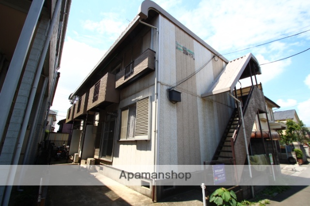 埼玉県川越市、ふじみ野駅徒歩48分の築41年 2階建の賃貸アパート