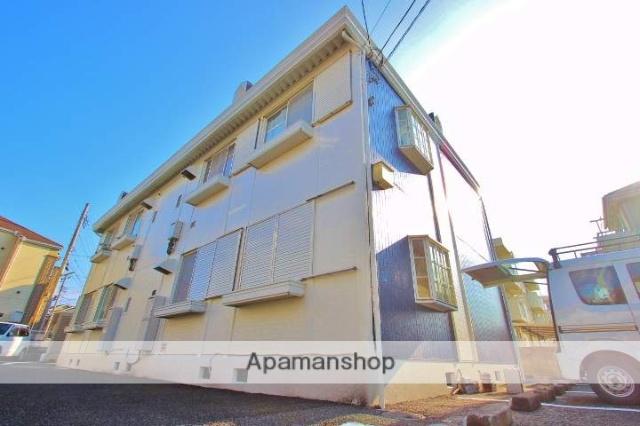 埼玉県富士見市、みずほ台駅徒歩14分の築25年 2階建の賃貸アパート