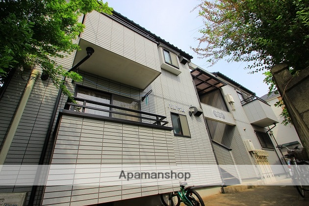 埼玉県富士見市、みずほ台駅徒歩23分の築17年 2階建の賃貸アパート