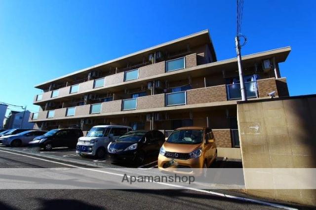 埼玉県入間郡三芳町、みずほ台駅徒歩32分の築7年 3階建の賃貸マンション