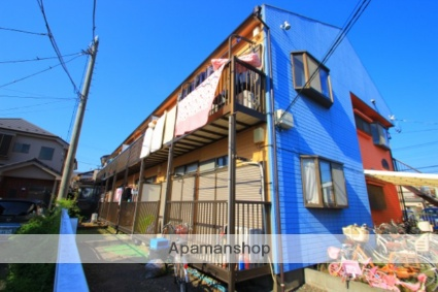 埼玉県富士見市、鶴瀬駅徒歩20分の築27年 2階建の賃貸アパート