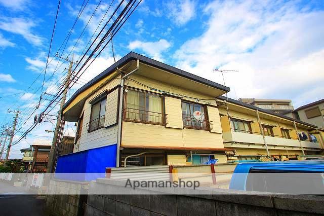 埼玉県富士見市、みずほ台駅徒歩15分の築51年 2階建の賃貸アパート