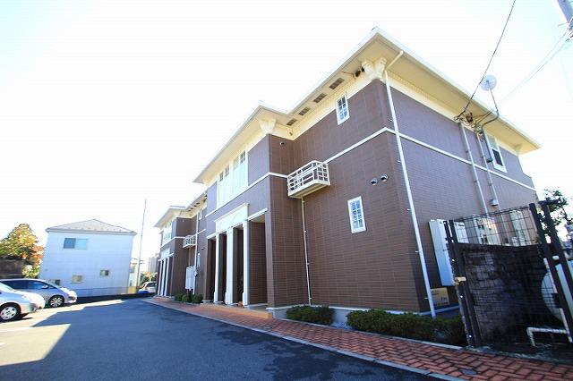 埼玉県志木市、志木駅バス17分宗岡蓮田下車後徒歩5分の築8年 2階建の賃貸アパート
