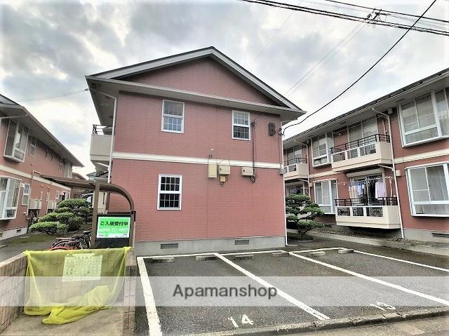 埼玉県川越市、上福岡駅徒歩44分の築22年 2階建の賃貸テラスハウス
