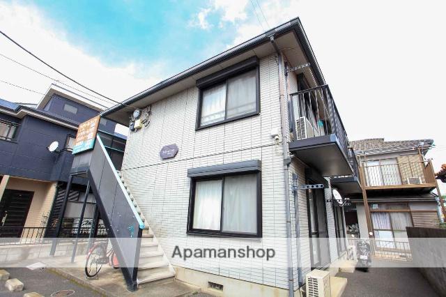 埼玉県川越市、ふじみ野駅徒歩32分の築17年 2階建の賃貸アパート