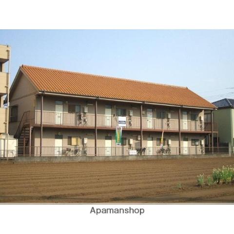 埼玉県川越市、上福岡駅徒歩22分の築29年 2階建の賃貸アパート