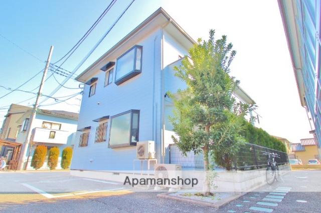 埼玉県富士見市、柳瀬川駅徒歩30分の築17年 2階建の賃貸アパート