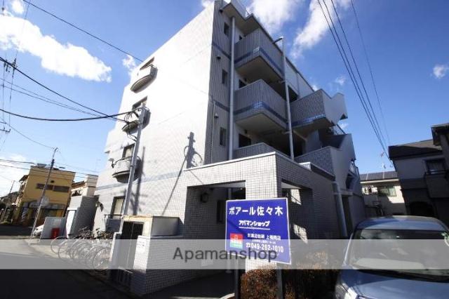 埼玉県川越市、ふじみ野駅徒歩39分の築26年 4階建の賃貸マンション