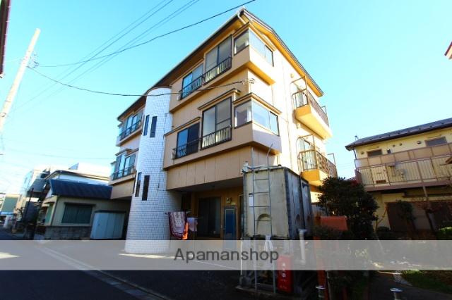 埼玉県富士見市、みずほ台駅徒歩31分の築31年 3階建の賃貸マンション