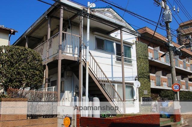 埼玉県富士見市、みずほ台駅徒歩16分の築45年 2階建の賃貸アパート