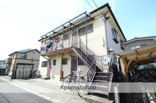 埼玉県富士見市、鶴瀬駅徒歩9分の築25年 2階建の賃貸アパート