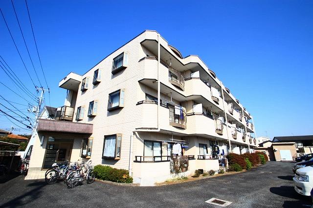 埼玉県志木市、志木駅徒歩15分の築26年 3階建の賃貸マンション
