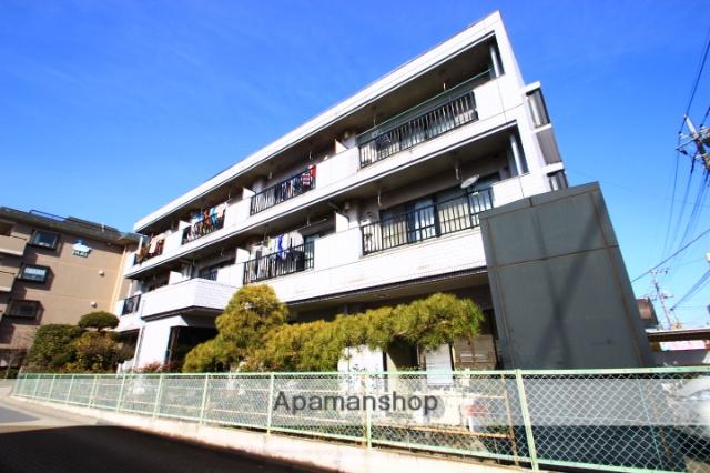 埼玉県新座市、新座駅徒歩12分の築29年 3階建の賃貸マンション