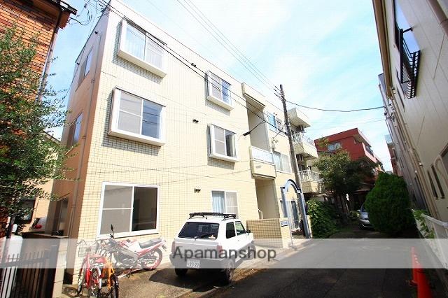 埼玉県志木市、志木駅徒歩12分の築26年 3階建の賃貸マンション