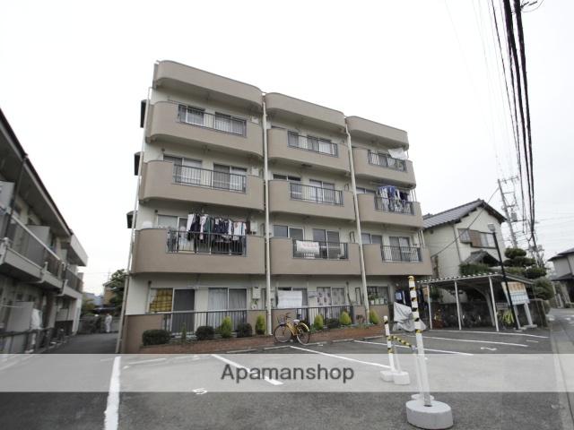 埼玉県朝霞市、北朝霞駅徒歩9分の築42年 4階建の賃貸マンション