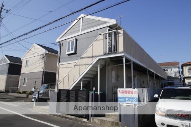 埼玉県川越市、ふじみ野駅徒歩36分の築24年 2階建の賃貸アパート