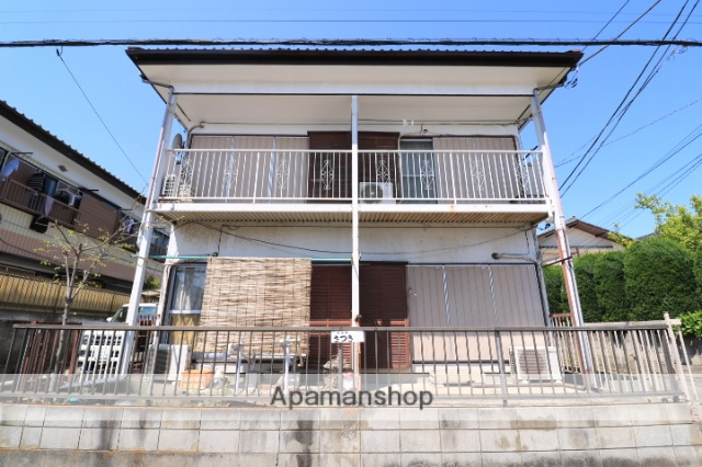 埼玉県川越市、上福岡駅徒歩15分の築47年 2階建の賃貸アパート